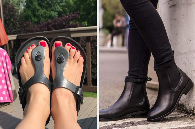 13 Better Versions Of Regular Boots, Flats, Sneakers, Pumps, And Sandals
