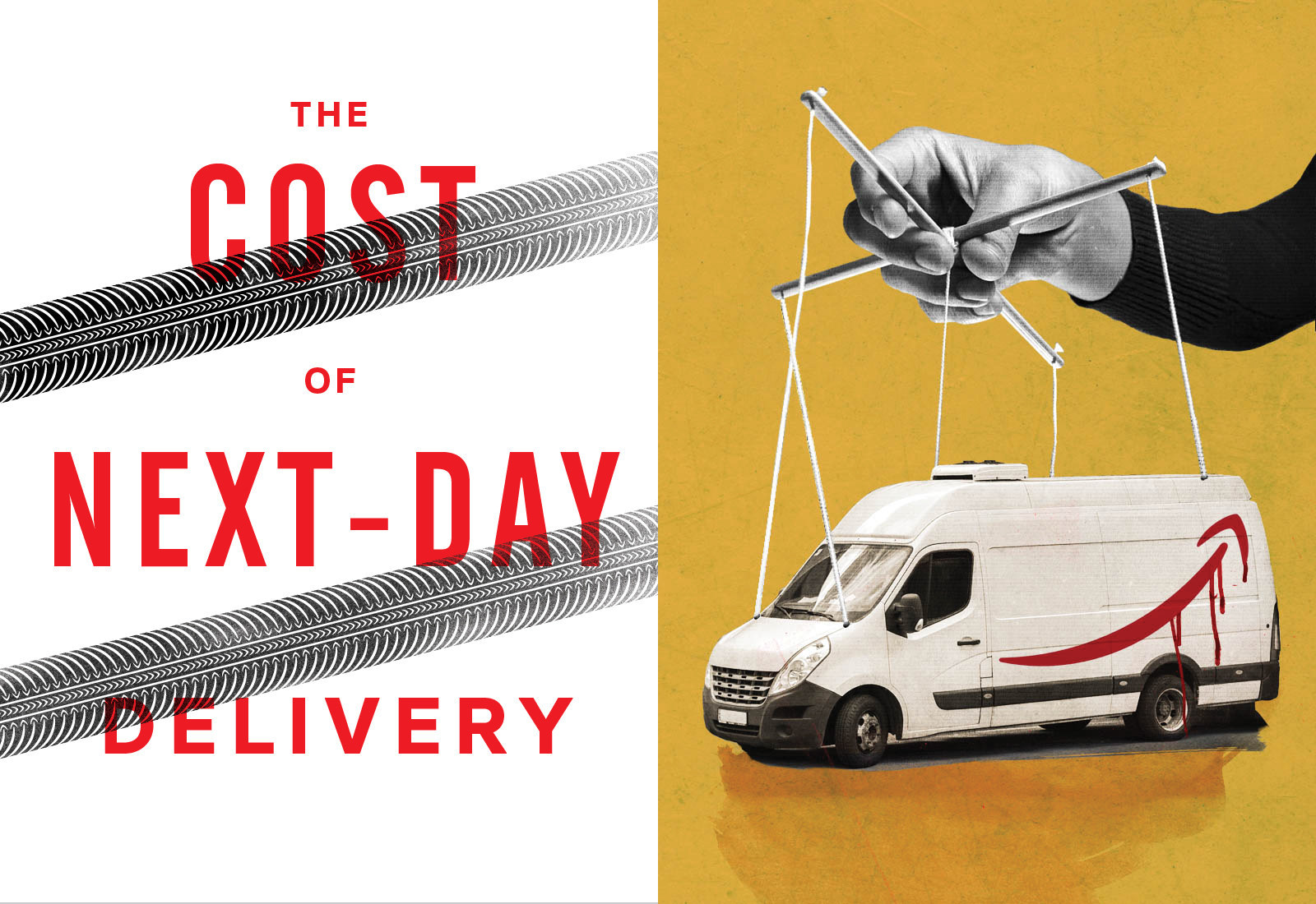 Amazon's Next Day Delivery Has Brought Chaos And Carnage To