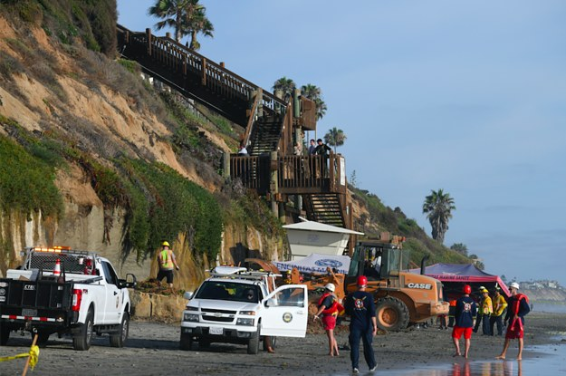 Three People Are Dead After A Cliff Collapsed On A California Beach