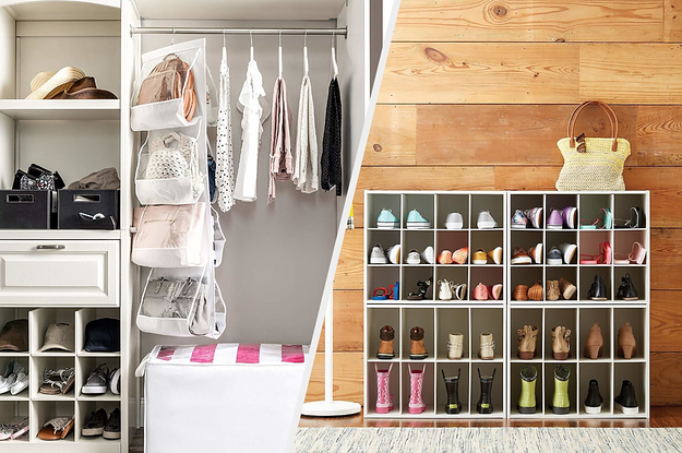 25 Things That'll Finally Organize Your Overflowing Closet