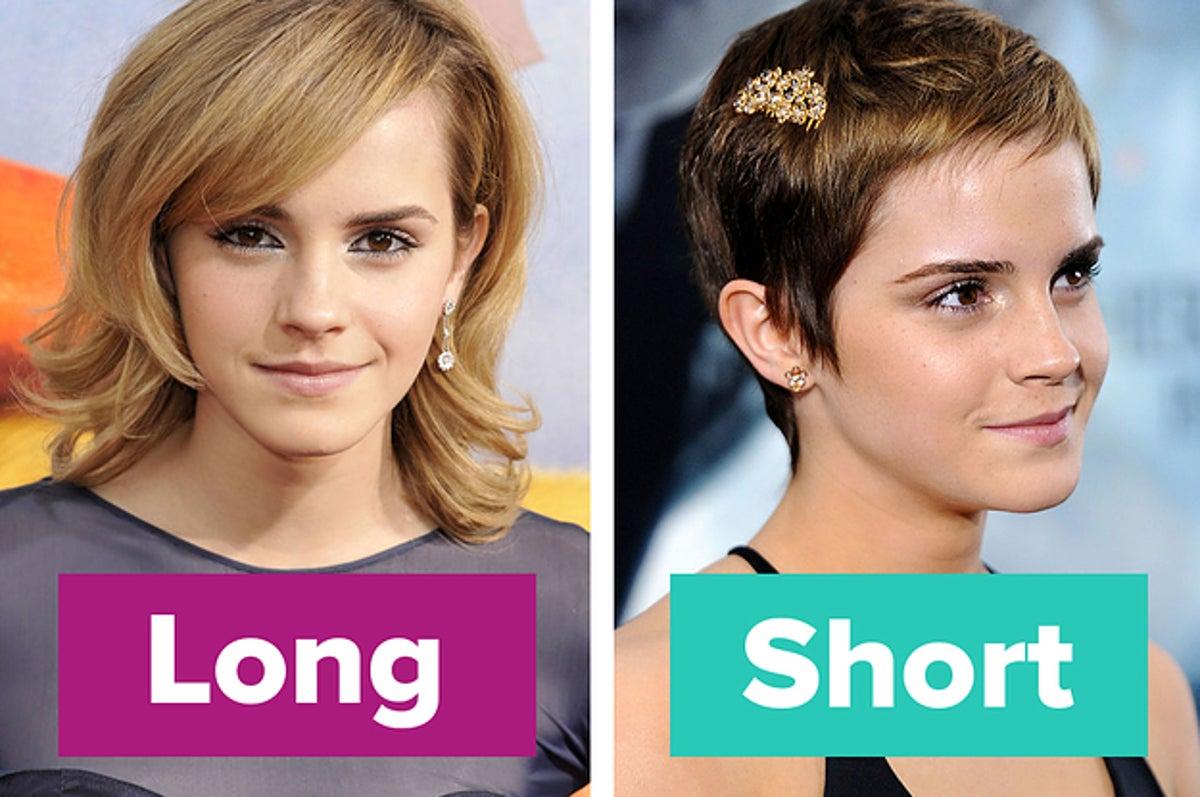 Hair women vs short long Long Hairstyles