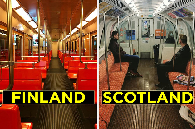 15 Photos That Show How Different The Subway-Riding Experience Is Around The World