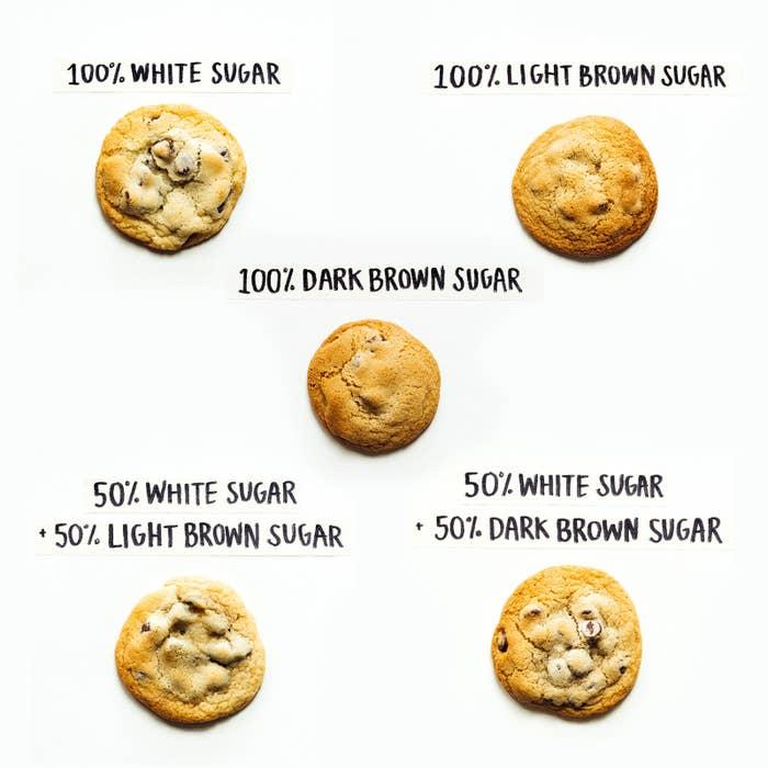 Image result for brown sugar vs white sugar baking