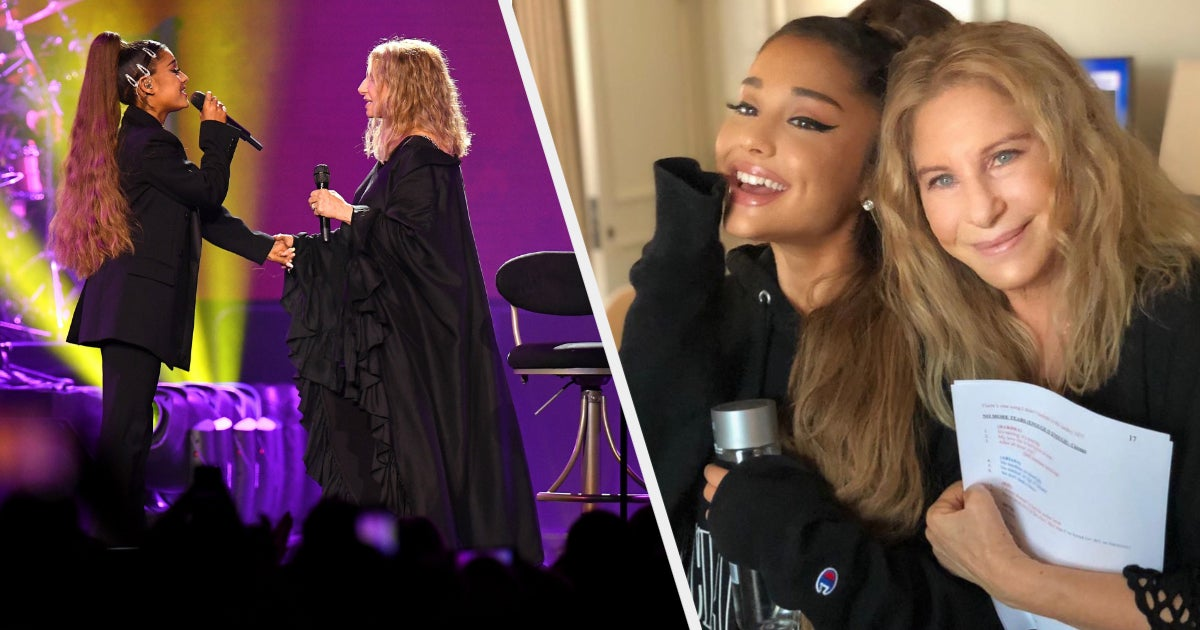 Ariana Grande Performed A Duet With Barbra Streisand And, Wow, This Is What Gay Heaven Sounds Like