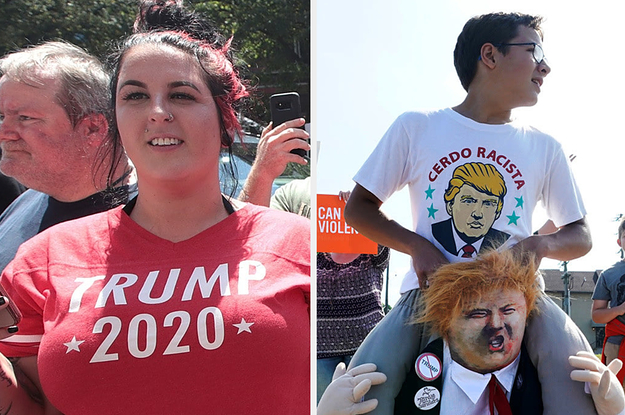 Here's How People Responded To Trump's Visits To El Paso And Dayton