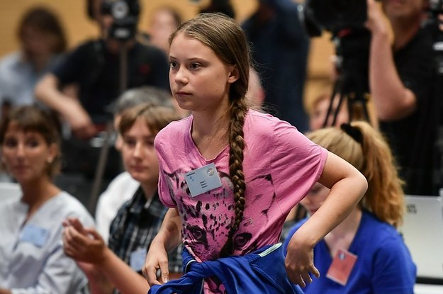 Greta Thunberg Joined A Walkout At The First Major Summit Of The Movement She Inspired