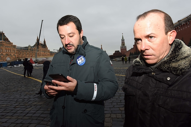 Flight Records Show Salvini's Aide Made A Lot Of Mysterious Trips To Moscow Around The Time Of The Secret Oil Deal Meeting