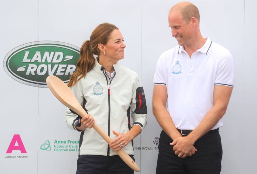 Prince William And Kate Race Sailboats In Inaugural King's Cup