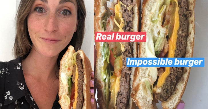 Is the burger king impossible burger vegan