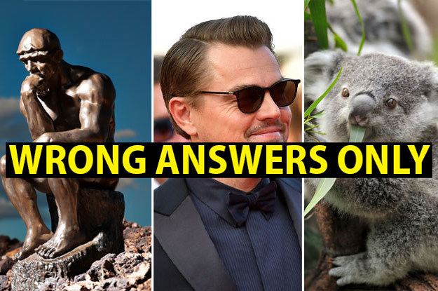 If You Lose This Trivia Quiz Completely, You Win
