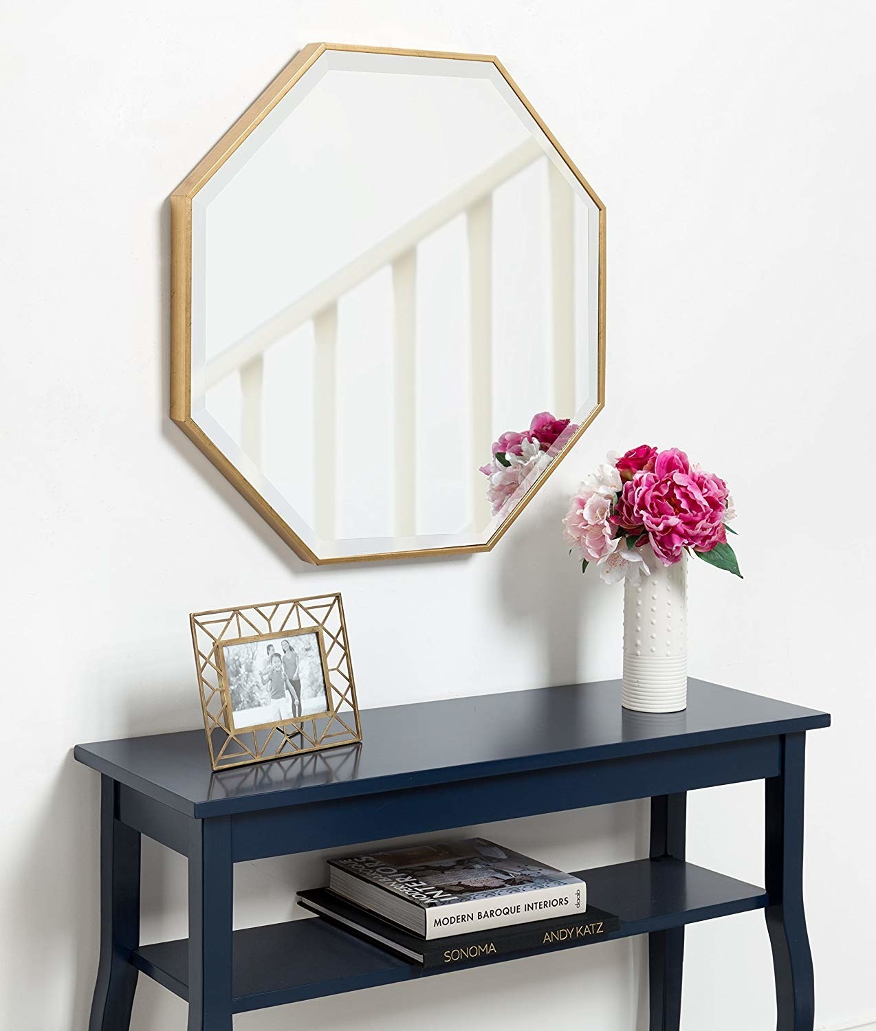 The gold-frame mirror