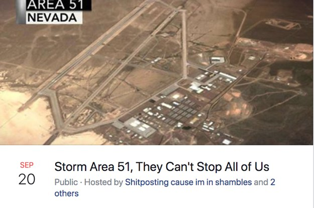 "The Viral ""Storm Area 51"" Event Got Canceled For Being A ""Possible Humanitarian Disaster"""