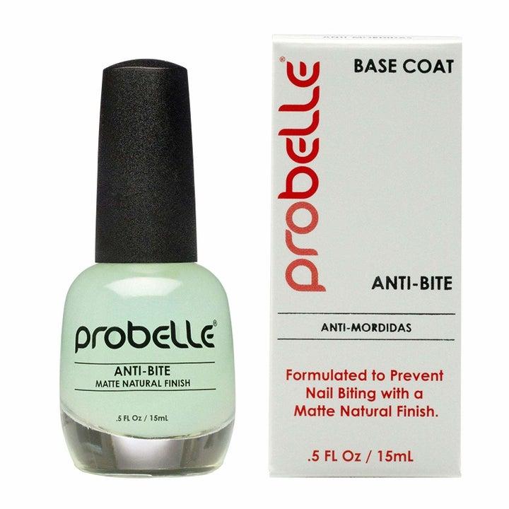 the bottle of probelle anti-bite base coat