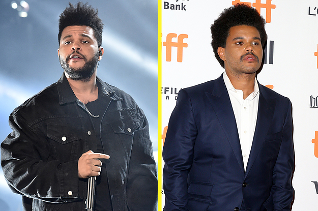 The Weeknd Made His First Appearance Since Breaking Up With Bella Hadid And He Doesn't Look Like The Weeknd Anymore