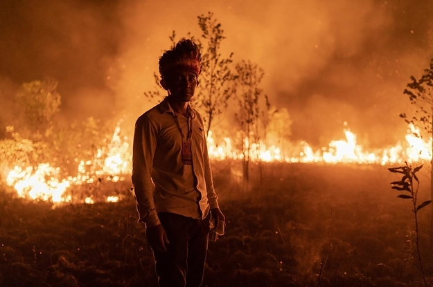 This Indigenous Tribe In The Amazon Survived Forced Labor And Epidemics. Now Their Land Is On Fire.