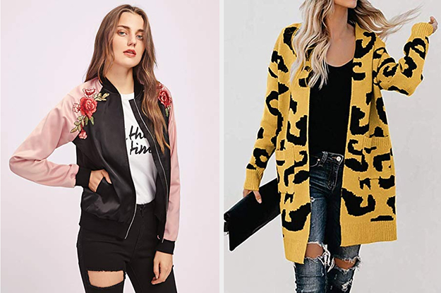 30 Affordable Jackets You Can Rock 'Til It's Actually Cold Enough For A Winter Coat
