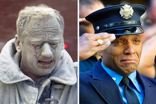 These Powerful Photos Show The Bravery And Selflessness Of 9/11 First Responders