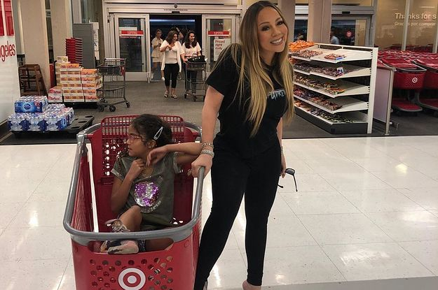Mariah Carey Went On A Target Shopping Spree And Posted A Casual Photo To Prove It