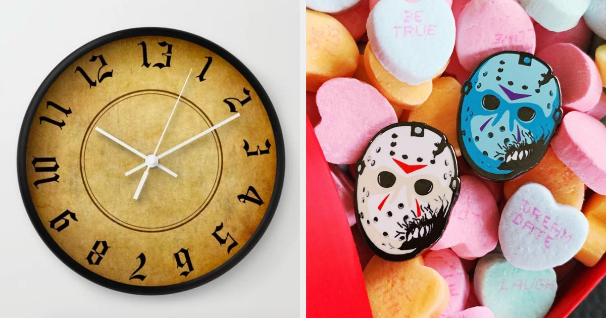 23 Eerie Things For Anyone Whose Favorite Holiday Is Friday The 13th