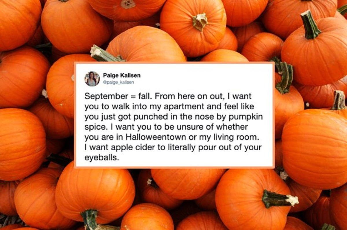20 Funny Tweets About Fall For Anyone Who's So Over Summer