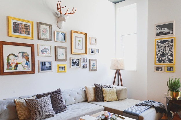 If You Want To Finally Conquer That Gallery Wall, Here's How To Do It