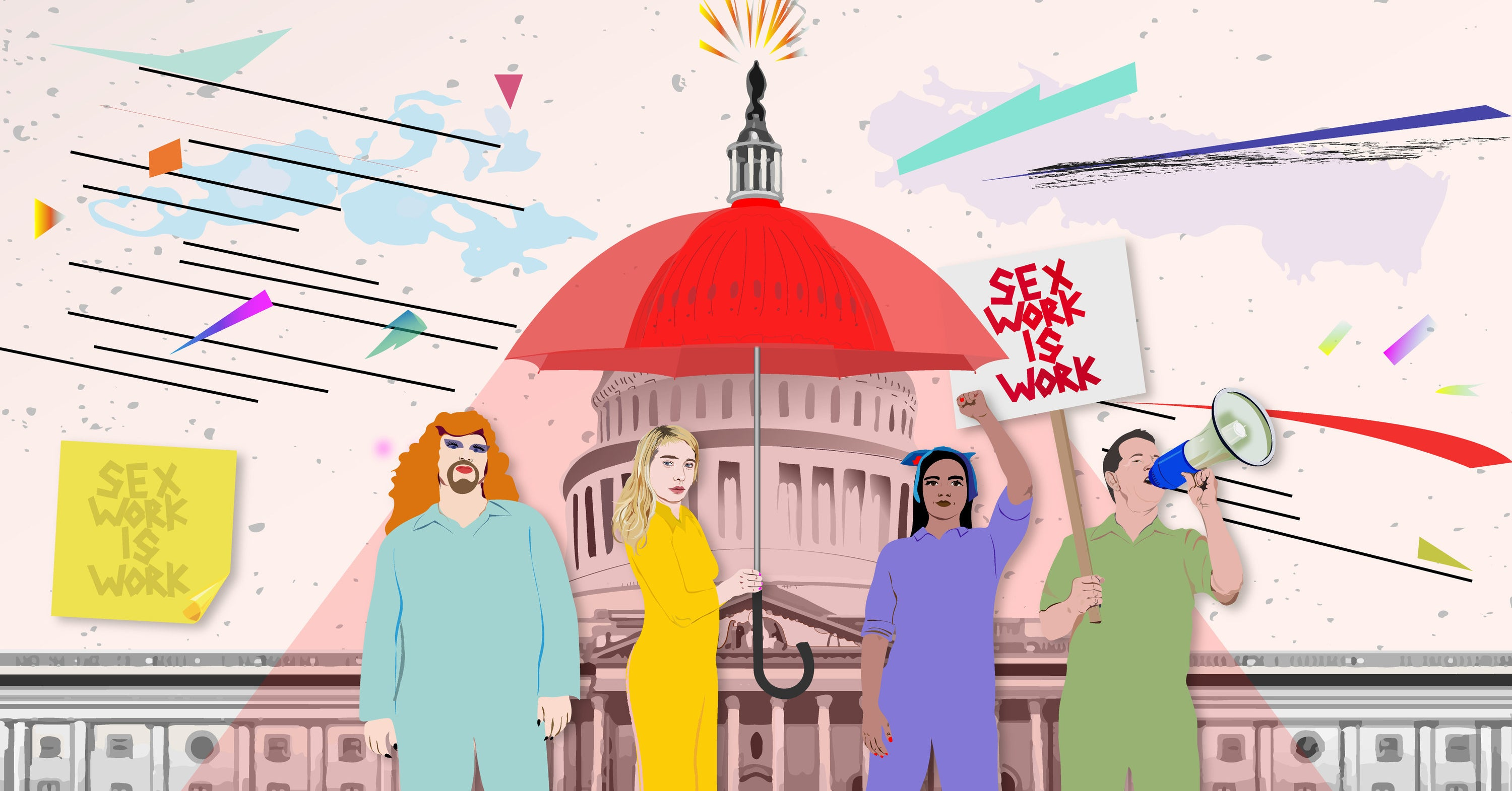 Many Members Of Congress Are Reluctant To Talk About Sex Work. Meet The Lobbyist Trying To Change That.