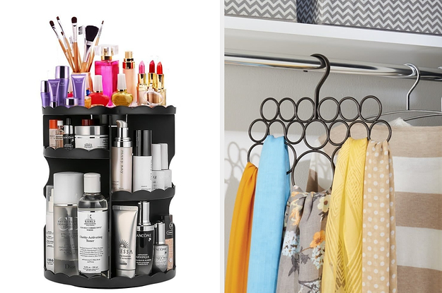 20 Clever Ways To Organize Your Jewelry, Makeup, And Clothing