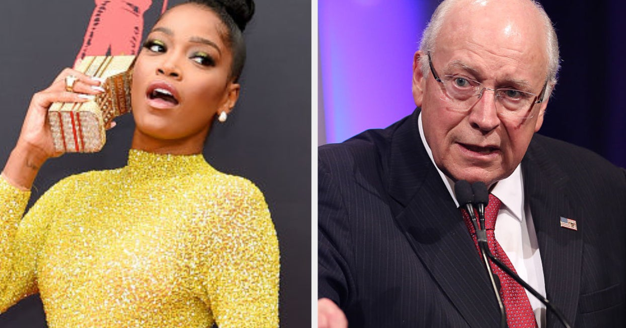 KeKe Palmer Doesn't Know Who Dick Cheney Is And I'm Quietly Laughing To Myself About It