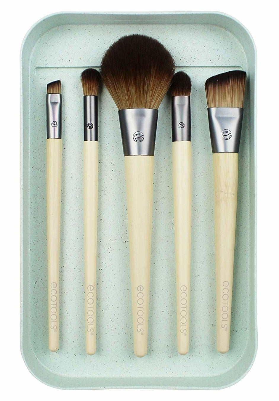 the five makeup brushes