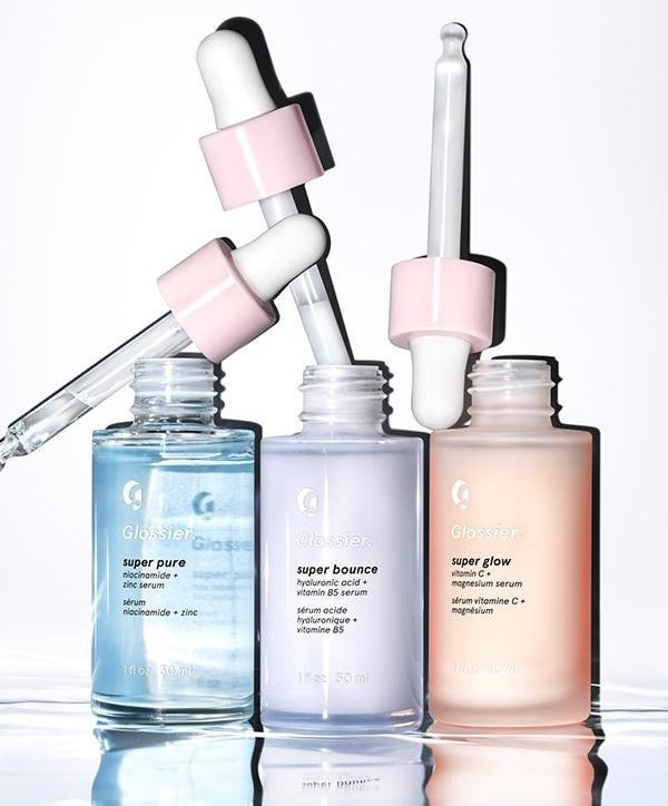All three serums