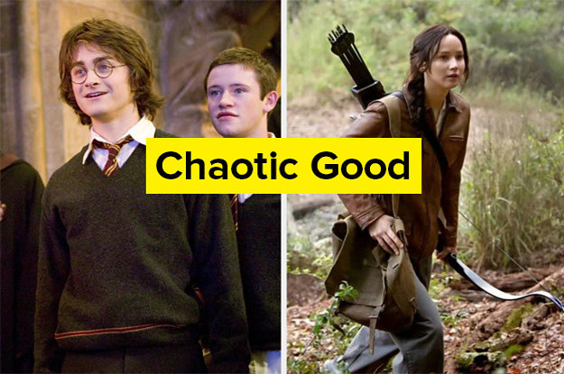 Are You A Slytherin? Are You From District 12? Your Answer To These Questions Will Determine Your Moral Alignment