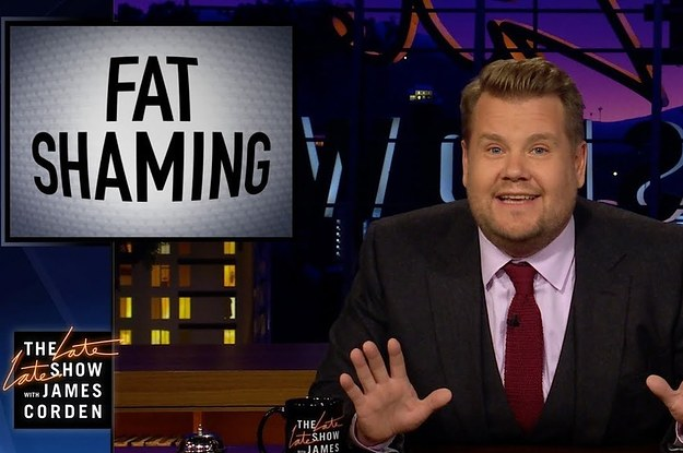 James Corden Shut Down Bill Maher's Take On Fat-Shaming