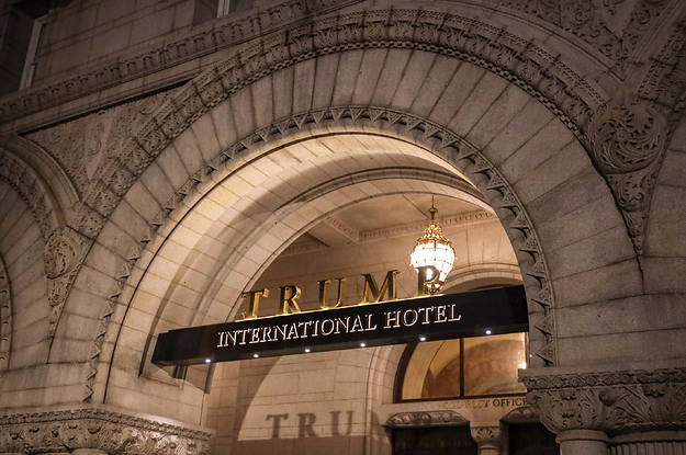 A Court Revived Another Lawsuit Against Trump For Continuing To Profit From His Businesses