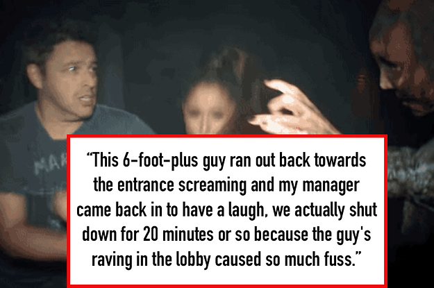 13 Stories From Haunted House Workers About Their Best Scares