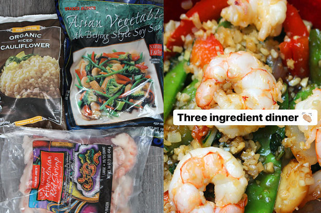 7 Three-Ingredient Gourmet Trader Joe's Dinners For Lazy Nights