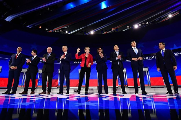 The Top Democrats Running For President Debated On The Same Stage For The First Time