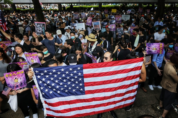 Hong Kong's Protesters Are Trying Hard To Get The US's Attention