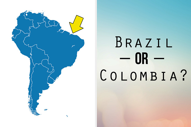 Central And South America Have 19 Countries, Can ...