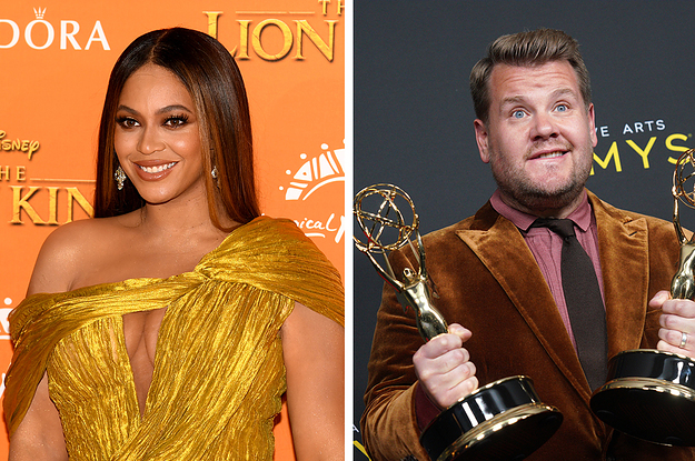 James Corden Won An Emmy Over Beyoncé And Even Her Cameraman Got Involved In The Drama