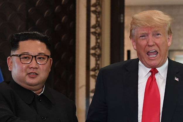 Donald Trump Keeps Telling World Leaders The Same Bizarre Story About Kim Jong Un