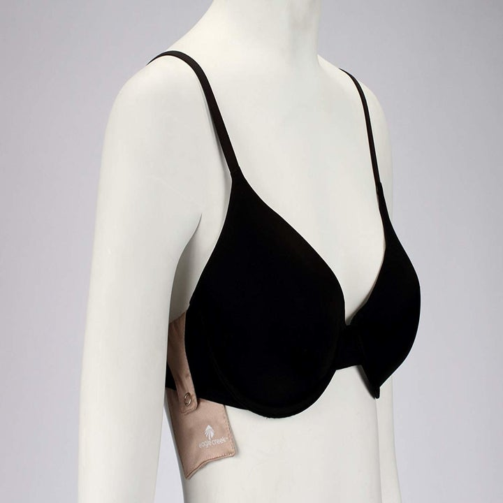 The same pocket attached to the back side of bra