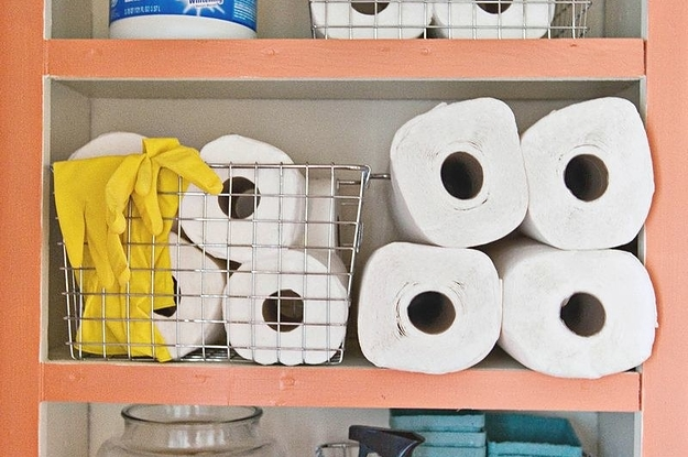 40 Ways To Organize Every Cabinet In Your House