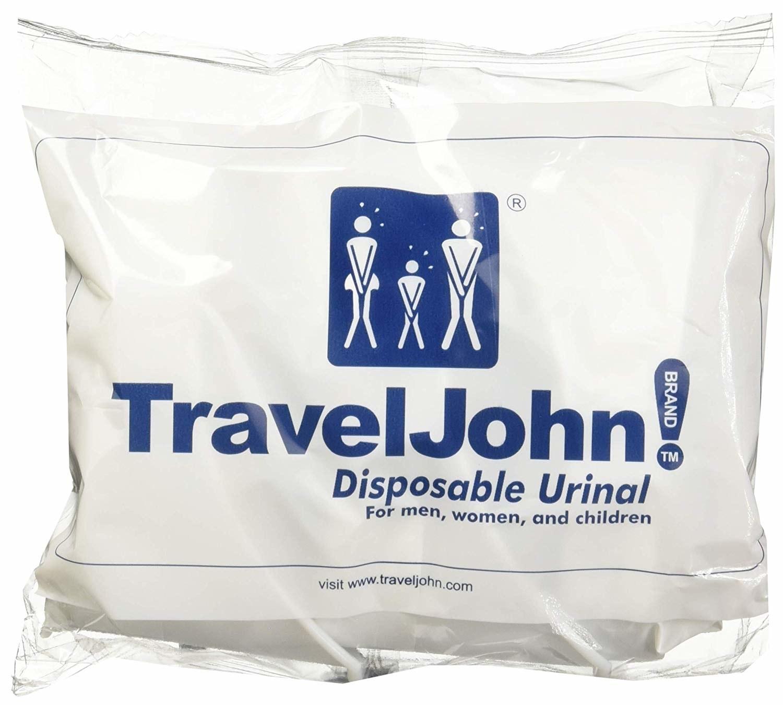 Travel John! disposable urinal