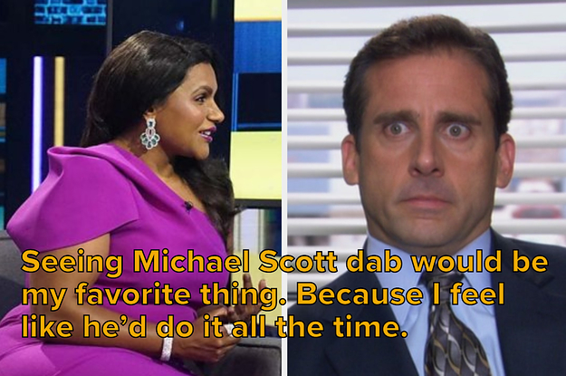 """Here's What Mindy Kaling Thinks Michael Scott Would Be Doing If """"The Office"""" Was Still On"""