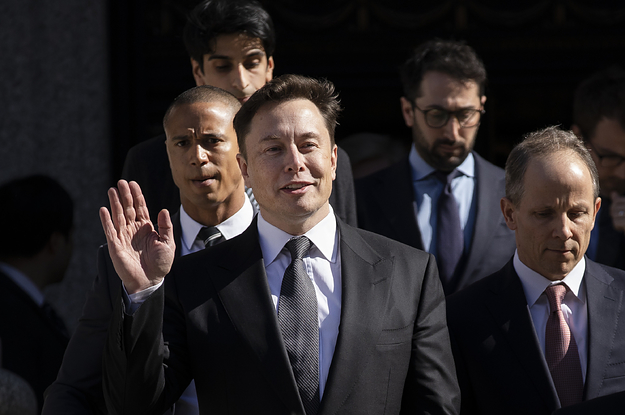 """Elon Musk Says He Thought A British Cave Rescuer He Called A """"Pedo Guy"""" Could Have Been Like Jeffrey Epstein"""
