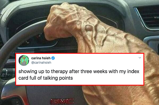 15 Funny Tweets For Anyone Who Could Use A Therapist Right About Now