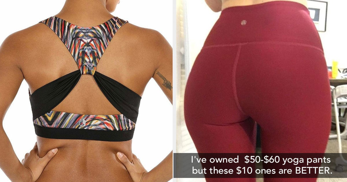 """24 Pieces Of Inexpensive Athletic Clothing That Might Make You Say """"Bye"""" To Lululemon"""