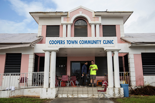 A Remote Bahamas Medical Clinic Lost Staff, Power, And Water. It Stayed Open Anyway.
