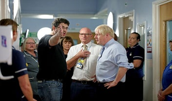 """Boris Johnson Told The Father Of A Sick Child There Was """"No Press"""" At A Press Opportunity Arranged By Downing Street"""