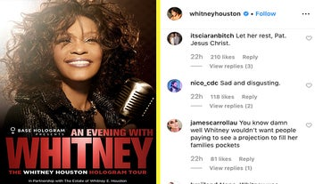 A Whitney Houston Hologram Tour Has Sparked A Huge Backlash From Fans